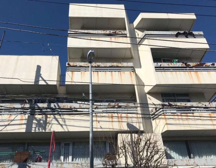 外壁塗装の施工事例ビフォー